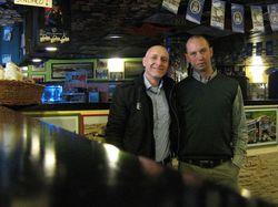 Incontro con l'Africa 2012 - con l'amico Luca Perusi a Verona, nel suo stupendo pub in stile australiano.