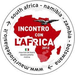 Incontro con l'Africa 2012 - il logo del viaggio