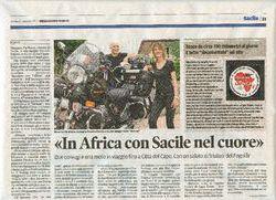 Press - In Africa con Sacile nel cuore